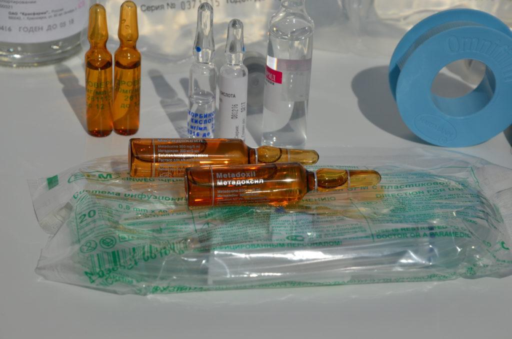 Современные препараты от запоя.