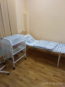 Уютная обстановка дневного стационара на Минской 51ф стр 1